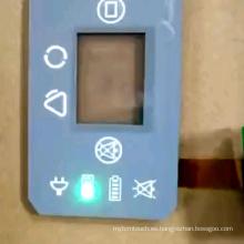 2020 nuevo teclado de goma de silicona de membrana