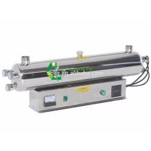 Auto-limpeza esterilizador UV filtro para indoor peixe tratamento da água da fazenda