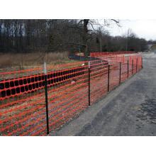 High Strength Orange Warning Plastic Fence