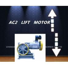 Carga AC-2 elevador engranaje Motor de la tracción