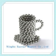 N42 Никель покрытие здравоохранения шарик редкоземельных магнит