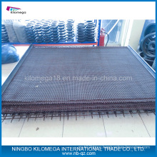 Red Vibrating Mesh Used in Crusher Plant with Hook