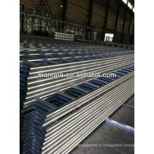 échelle de marche en acier