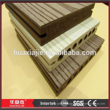 Cheap WPC Plastic Composite Decking for Timber Trestle Bridge
