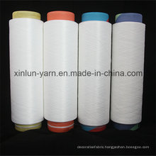 High Tensity 100% Polyester DTY Yarn for 75D/36f Nim