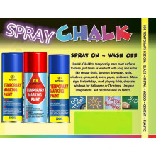 Water Removable Temporary Marking Paint/Spray Chalk/Water Washable Spray Paint 200ml/400ml