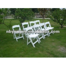 folding resin chair for party