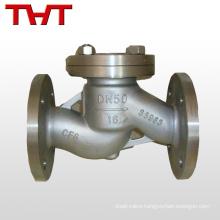 800 pornd grade api lift angle stop water jet check valve body inline