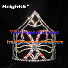 Wholesale 5inch Candy Cane Pageant Crowns