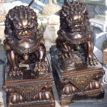 Venta de estatuas de perro foo de alta calidad con alta calidad