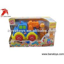 Bombeiros de brinquedo com luz e música