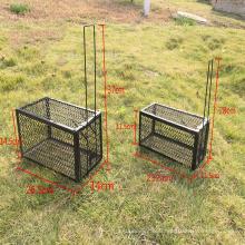 64x19x26 cm galvanized powder coating steel garden rat trap cage