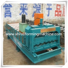 Glazed Galvanized Metal Door Frame Roll Forming Machine