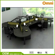 Ethospace Vier Person Büro Workstation BIFMA Standard (OMNI-ETHO-01)