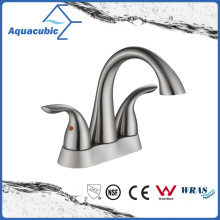 Hot Sale Nickel Brush Brass Basin Faucet (AF0105-6BN)