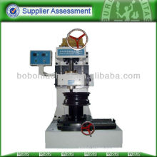Wheel nut seat impact testing machine