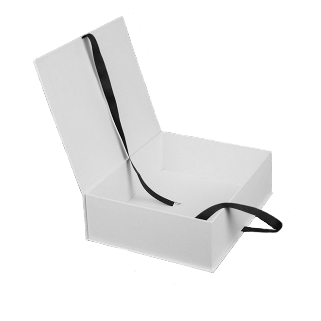 White Rigid Gift Box