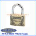 Top Security Zinc Alloy Square Type Vane Padlock