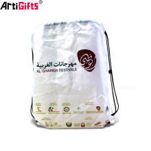 Wholesale Bulk Cheap new product custom non woven drawstring bag pouch