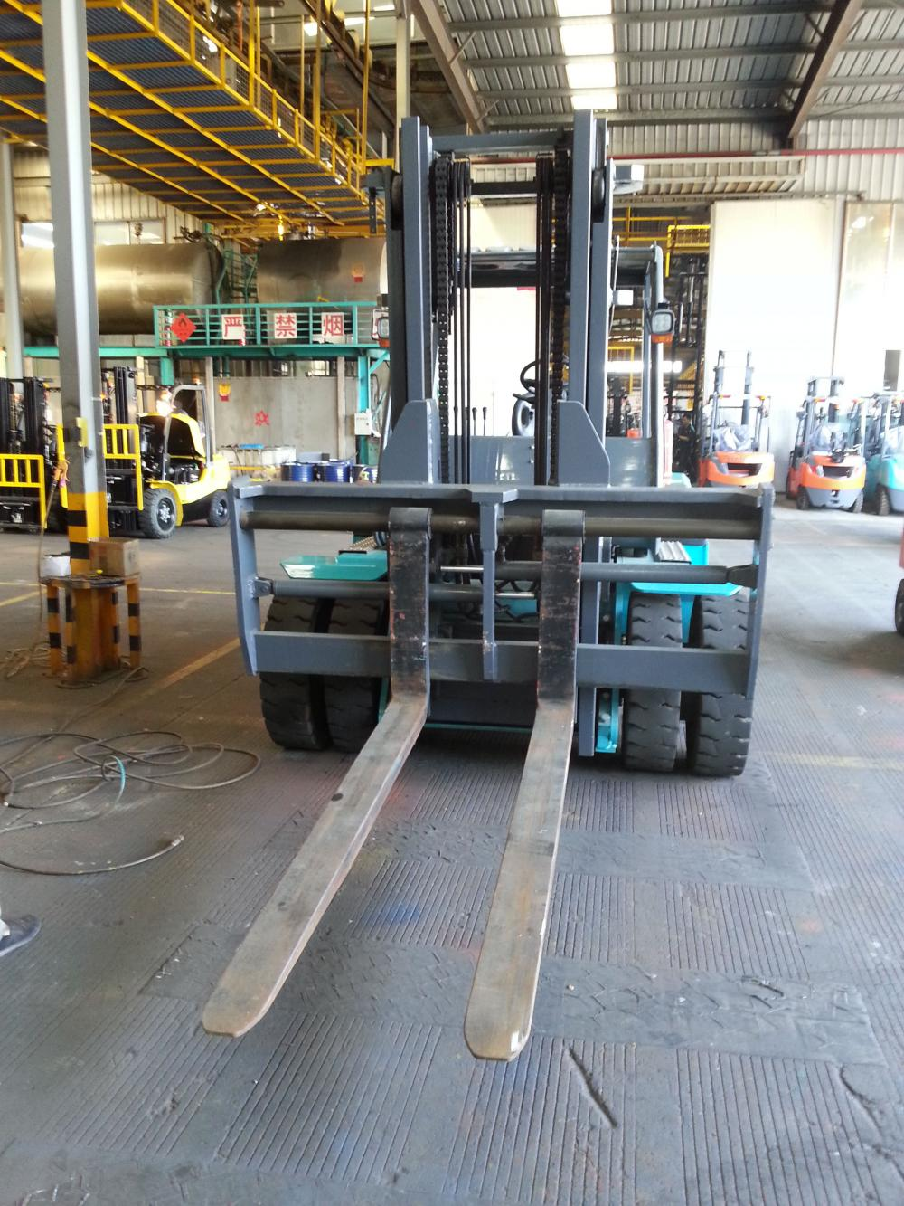 Forklift With Long Forks