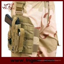 075 drop Leg pistolet Holster avec étui de pistolet Tactical Gear