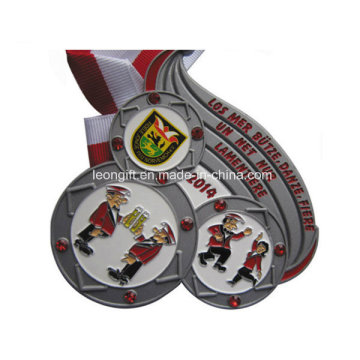 Custom Promotional Gift Made Enamel Cheap Honour Medal