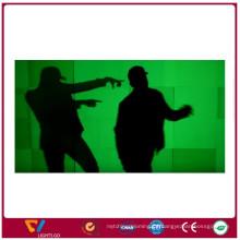 Gelb-weißer grüner leuchtender Aufkleber für Sicherheits-Zeichen-photolumineszierender Film Glühen im dunklen Vinyl Sheeting