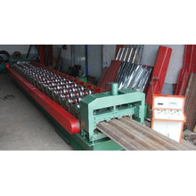 Máquina formadora de rolos de piso de dobra a frio