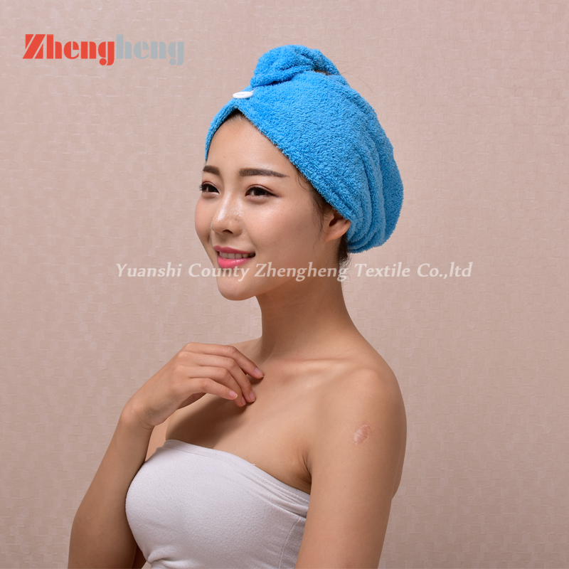 Coral Fleece Hair Cap (25)