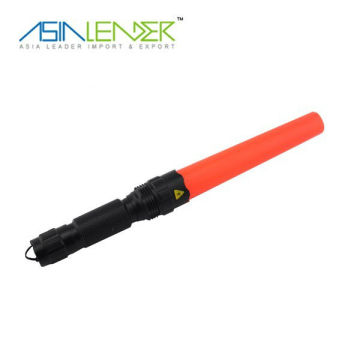 High power cree Q4 police flashlight for traffice control baton