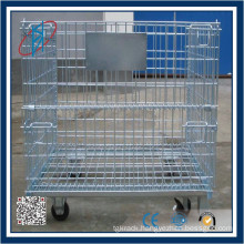 Aluminum Foldable Collapsible Roll cart/roll Cage