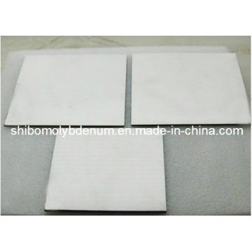 Plaques de tungstène poli pour four à vide