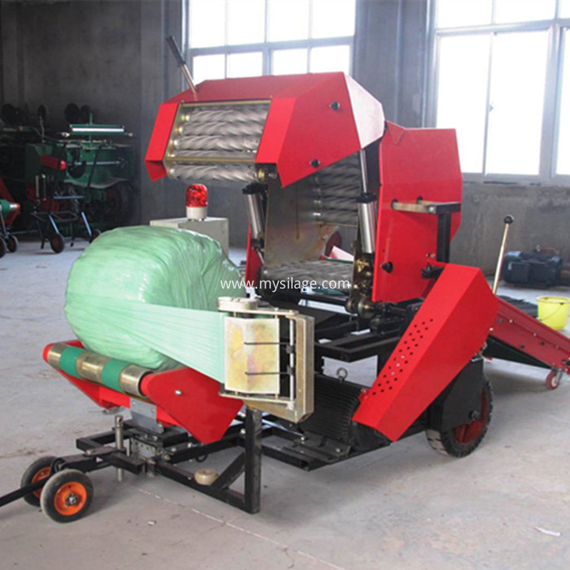 semi-automatic bale machine