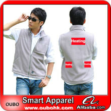 Latest Waistcoat For Men Design with electric heating system heated clothing warm OUBOHK