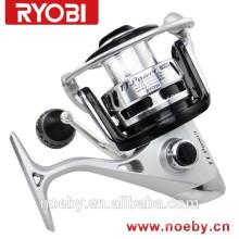 Hot selling RYOBI bobina de corpo de alumínio jigging pesca carretéis água salgada