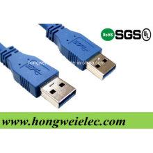 Typ - ein männlicher Typ - ein männlicher Verlängerungsdraht USB 3.0 Kabel