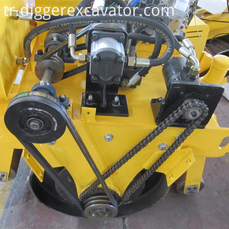 Walk Behind Single Wheel Road Roller