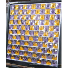 Telha de mosaico de espelho de diamante de vidro (HD062)