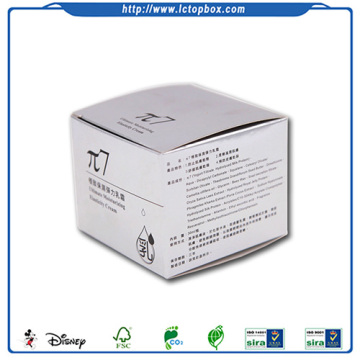 Lady face cream packaging paper boxes