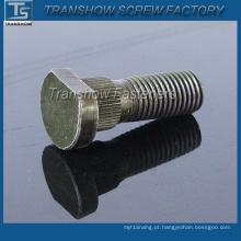Parafusos do cubo de roda da peça de automóvel do aço carbono com boa qualidade