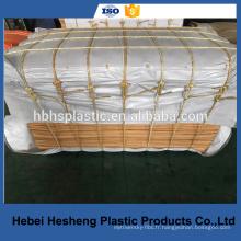 Toile tissée blanche PE / en tissu / en tissu
