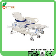 Manual patient transfer emergency ambulance stretcher