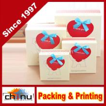 Caja de regalo de papel / caja de embalaje de papel (110244)