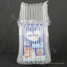 Wiederverwendbare aufblasbare Luftfüllung Kissenbeutel für Milchpulver kann