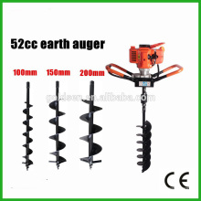 52cc 1700w Hand-Held Manual Earth Auger Ground Drill Drilling Machine Portable Post Hole Digger