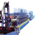 Welded steel tube pipe making machine