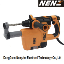 Demolition Hammer Nenz Rotary Hammer with Dust Extractor (NZ30-01)