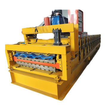 Ppgi Roof Roll Forming Machine