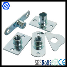 Blue-White Zinc Plated Stamping Parts