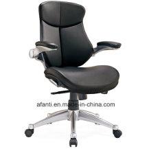 Moderne verstellbare Arme Büro Leder Manager Stuhl (RFT-B37-1)